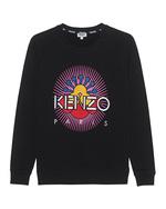 KENZO KENZO Pink Sun Logo Black
