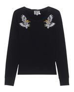 Pam&Gela Pam&Gela Embroidered Sweatshirt Black