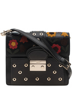 RED VALENTINO RED VALENTINO Shoulder Flower Black