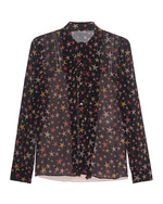 RED VALENTINO RED VALENTINO Blouse Bow Stars