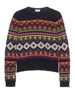 RED VALENTINO RED VALENTINO Chunky Knit Multi Black