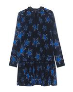 JUST CAVALLI JUST CAVALLI Star Print Dress Black Blue
