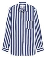 COMME DES GARÇONS SHIRT COMME DES GARÇONS SHIRT Stripe Clean Couleur Bleu