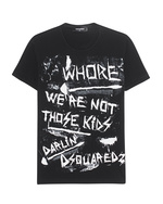 DSQUARED2 DSQUARED2 Print Those Kids Black