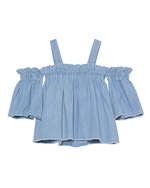 SJYP SJYP Denim Courte Light Blue