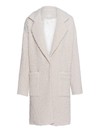 LALA BERLIN Coat Joon Loop Creme