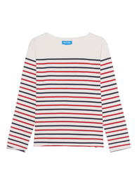 M.i.h JEANS Simple Mariniere Cream Navy Red