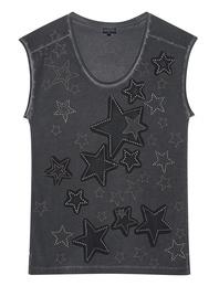 JUST CAVALLI Star Studs Anthracite