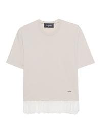 DSQUARED2 Tshirt Lace Beige