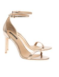 Rachel Zoe Collection Ema Metallic Pale Gold
