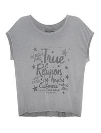TRUE RELIGION Crew Shirt Artwork Castle Rock