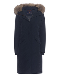 WOOLRICH W's Luxury Long Parka Navy