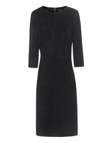 ARMA Velours Dress Black
