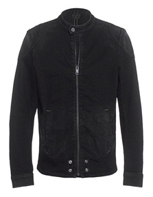 Diesel Denim Bike Washed Black