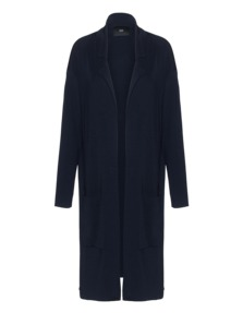 STEFFEN SCHRAUT Knitted Coat Dark Blue