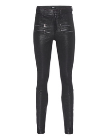 PAIGE Edgemont Leather Pant Black