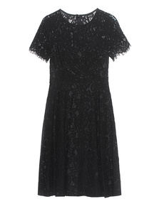 YOUNG COUTURE BY BARBARA SCHWARZER Lace Black Dress
