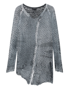 AVANT TOI Painted Knit Grey White