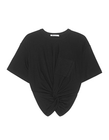 T BY ALEXANDER WANG Cropped Knot Black