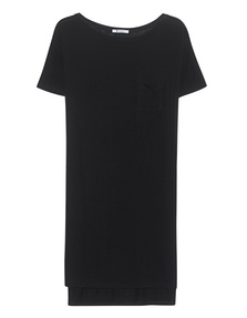 T BY ALEXANDER WANG Classic Boatneck Black