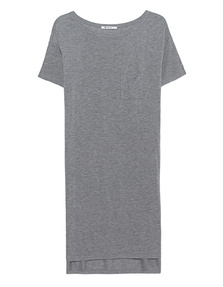 T BY ALEXANDER WANG Classic Boatneck Heather Grey