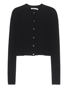 T BY ALEXANDER WANG Button Rib Black