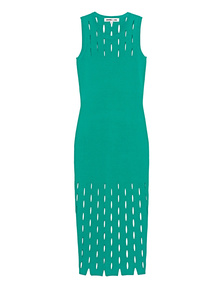 McQ by Alexander McQueen Cut Out Stitch Green
