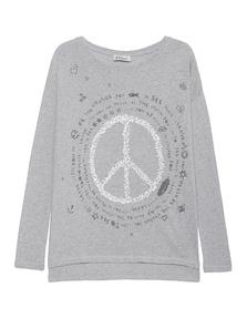 GRACE Peace Knit Grey
