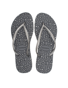 HAVAIANAS Slim Animals Steel Grey