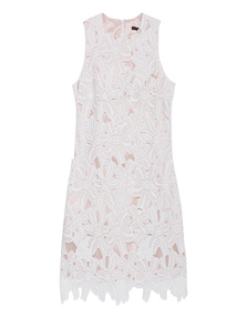 SLY 010 Fine Floral Lace White
