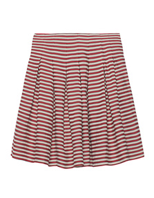 SLY 010 Flowing Stripes Cream Red