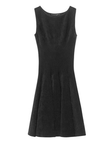 ANTONINO VALENTI Adelaide Skater Dress Black