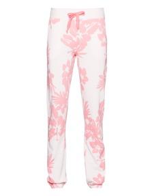 JUVIA Floral Devoré Sweat Blushed Pink