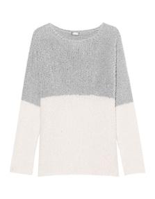 JUVIA Bubble Knit Cream Grey