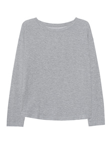 JUVIA Fleece Sweatshirt Grey Melange
