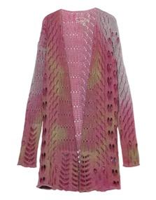 FROGBOX Long Hole Knit Pink
