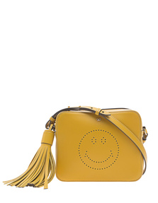 ANYA HINDMARCH Crossbody Smiley Mustard