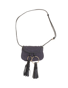 SEE BY CHLOÉ Mini Sacs Suede Midnight