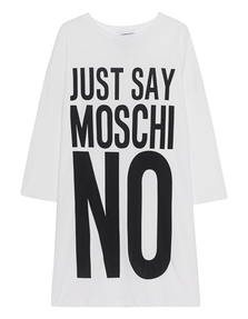 Just Say Moschino Off White