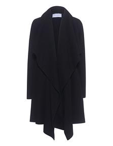 HARRIS WHARF LONDON Blanket Coat Black