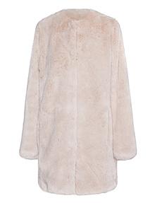 Betta Corradi Long Fake Fur Light Beige