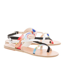 Ancient Greek Sandals Alethea Colourful