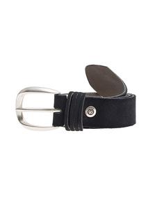 B.Belt Leather Stud Dark Blue