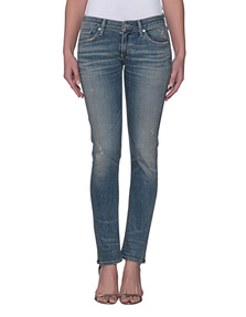 CITIZENS OF HUMANITY Racer Low Rise Skinny Miramar