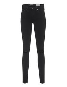 AG Jeans Legging Ankle Destroy Black