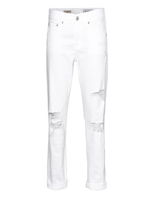 AG Jeans The Ex Boyfriend Slim White