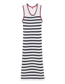 HILFIGER COLLECTION Striped Maxi Red Blue