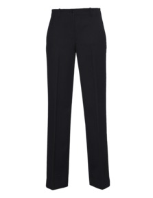 HELMUT LANG Wool Pleat Black