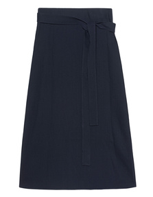 HELMUT LANG Wrap Skirt Navy