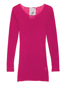FRIENDLY HUNTING Pury Long Crew Neck Melody Pink